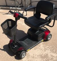 black and red mobility scooter Indio, 92201