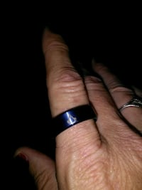 black and silver-colored ring Mission, 78573