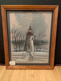 Original Water Color - Concord Point Signed Janet Hughes - REDUCED Baltimore, 21205