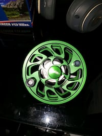 black and gray and green lost fly reel West Jordan, 84084