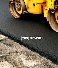 asphalt seacoating and paving  Modesto
