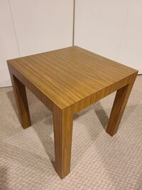 Laminated End Table