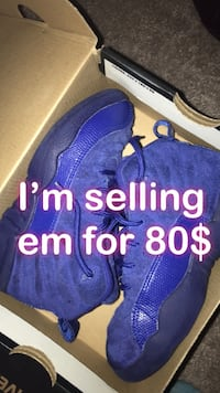 Air Jordan 12 Deep Royal Blue (size 13c only for lil kids)  Hyattsville, 20782