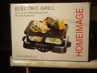 BRAND NEW NEVER OPENED INDOOR OR OUTDOOR HOMEIMAGE ELECTRIC GRILL! Mississauga