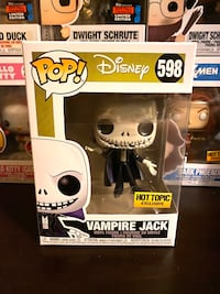 Metallic Vampire Jack Hot Topic Funko Pop Markham, L3S 3N2