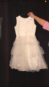 Robe blanche sans manches pour fille Colombes, 92700