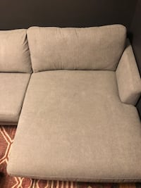 Gray couch with chaise  Kaysville, 84037