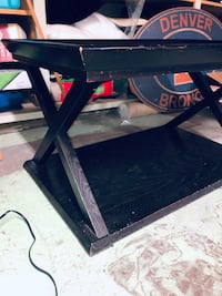 SOLID Black Coffee Table - From PIER 1 - Great quality!