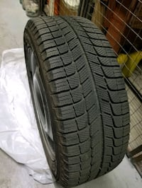 Michelin X-Ice winter tires on rims Toronto