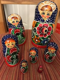 Russian nesting doll 7pc Vienna, 22182