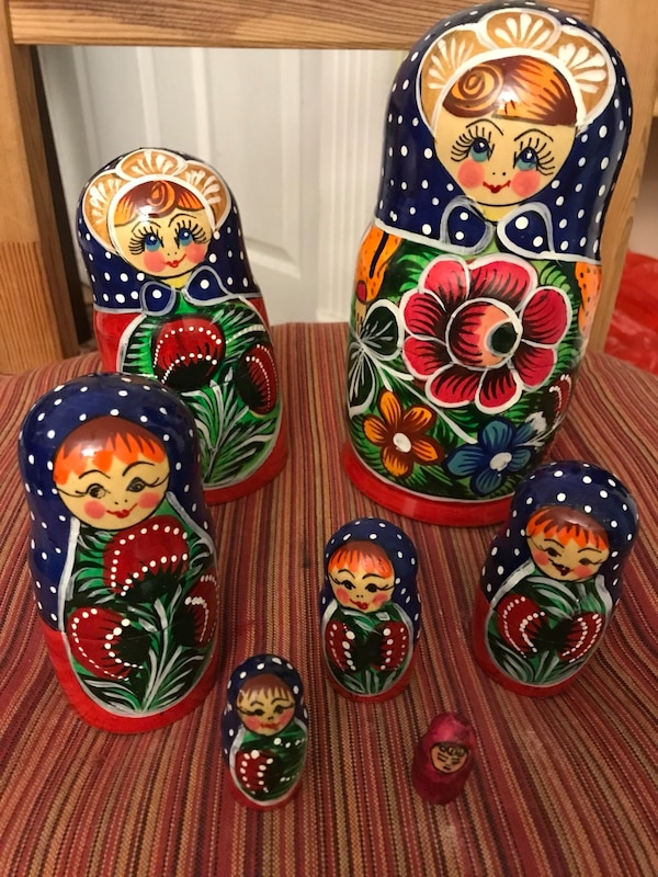 Russian nesting doll 7pc