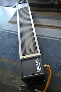 Patio heater, high end infared natural gas heaters Vancouver, V6G 2M4