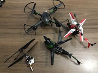 Drone quadcopter 8418 km