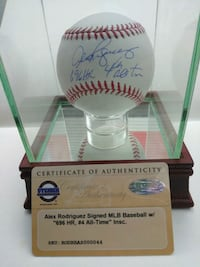 Alex Rodriguez Autographed baseball Knoxville, 37922
