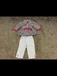 Girls size 12 months xoxo, Jacket and Pants  Milton, L9T 2R1