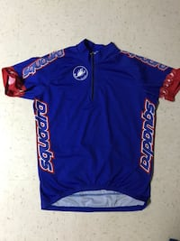 10.00 each MENS LARGE CYCLING JERSEYS