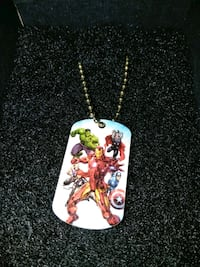 Dog Tag (Gold) Avengers Canton, 44709