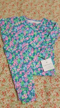 Carters pj size 18 m new wit tag