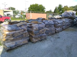 Firewood facechord pallets