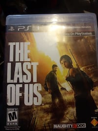 The Last of Us PS4 game case Lethbridge, T1H 0W2