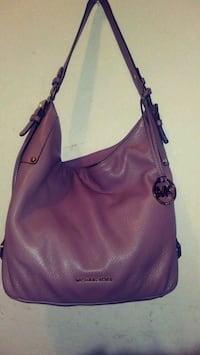 purple Michael Kors leather hobo bag Pleasanton, 94566