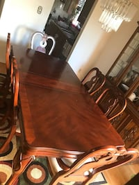 brown wooden dining table set Toronto, M1E 4X9