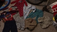 toddler's assorted clothes Edmonton, T6E 1Y6