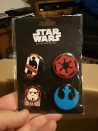Star Wars collectible buttons Abbotsford, V2S 5Y4