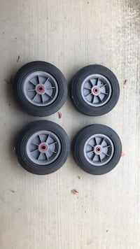 """10"""" Wheels with precision bearings 2378 mi"""