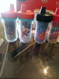 Sippy cups 1 dollar each. 7 total cups Phoenix, 85040