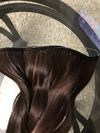 New Auburn ( brown black) colored hair extension Surrey, V4N 1Z1