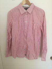 Striped Red Tommy Hilfiger Button Up Blouse Ottawa, K1H 8A7