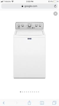 white top-load clothes washer Providence, 02909