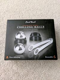 Chilling Balls/ice cubes with Stand and Tongs Kitchener, N2E 3R8