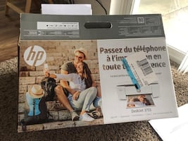 HP printer DeskJet 3755 + Free Printer Table