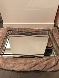 Mirrored table tray 16x24 inches