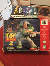 Toy story 2 with original box and manual  N64  New York, 10302