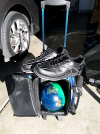 Men's Bowling Ball and Shoes Size 14 North Las Vegas, 89031