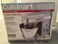 Cuisinart 5.5 qt stand mixer - new in box! Wellesley, 02482