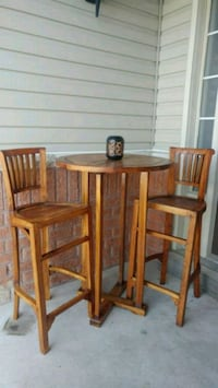 Fully Restored/Like New Teak Patio Bar Set Whitby, L1R 3H3