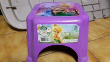 Tinkerbell step stool