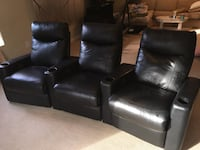 Leather theater chairs recliners Highland, 20777