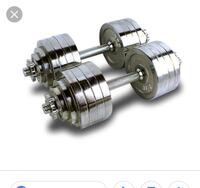 Adjustable chrome plated dumbbells Citrus Heights, 95610