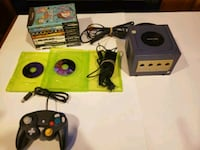 Gamecube, Controller and 10 games Milton, L9T 3Z7