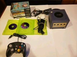 Gamecube, Controller and 10 games