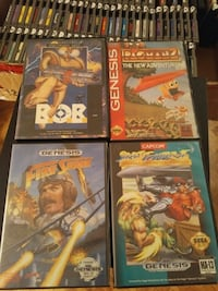 Sega Genesis games for sale individually  Vaughan, L4L