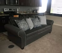 Sofa (3 seater) dark grey