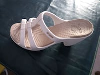 CROCS sandali  in pelle bianca Metropolitan City of Rome, 00126