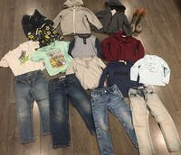 Boys size 4/5 end of summer/fall clothing lot Langley, V1M 0B6