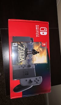 Nintendo switch all black, and Zelda, and Mario cart 8 deluxe  Smyrna, 37167